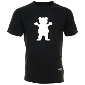 Grizzly OG Bear Logo T-Shirt - Black