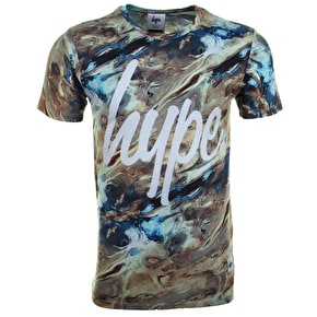 Hype Liquid Sands T-Shirt - Black
