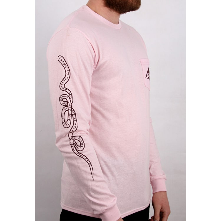 Emerica Toy Long Sleeve T shirt - Pink