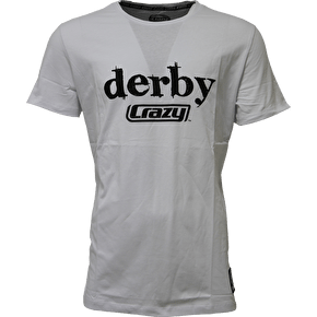 Crazy Skates 'Derby Crazy' T-Shirt- White