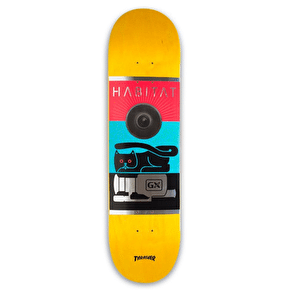 Habitat GX1000 Skateboard Deck - Yellow - 8.0