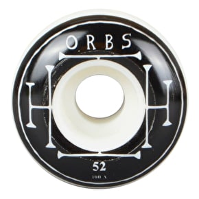 Orbs 100A Preternaturals None Cored Skateboard Wheels - 52mm