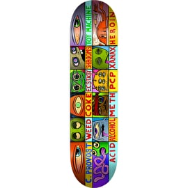 Toy Machine Drugged Skateboard Deck - Provost 8.5