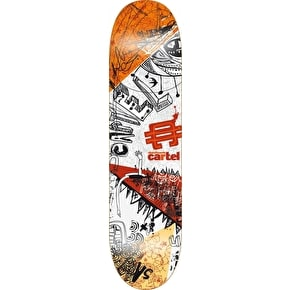 Cartel Framed Society Skateboard Deck - 7.8