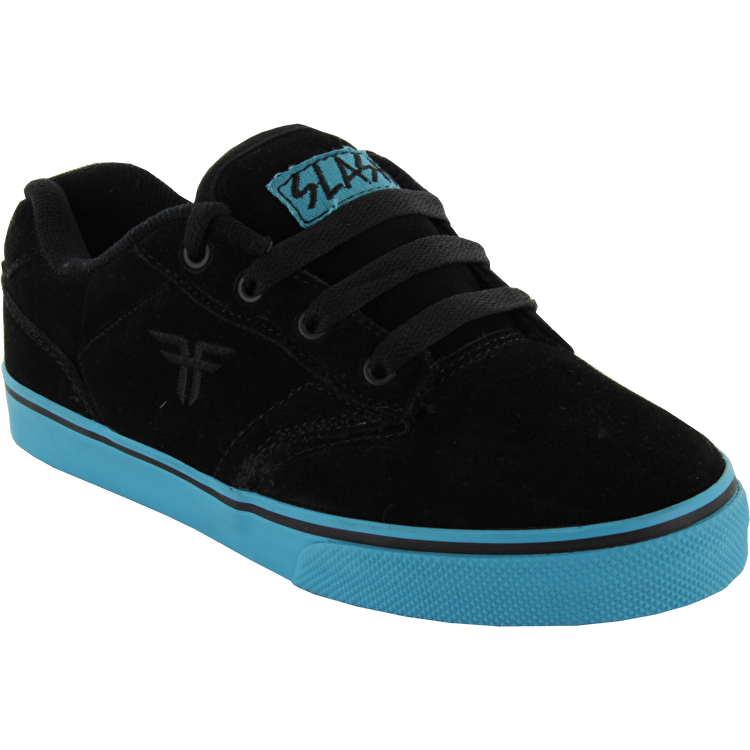 Fallen Kids Slash Skate Shoes - Black/Cyan