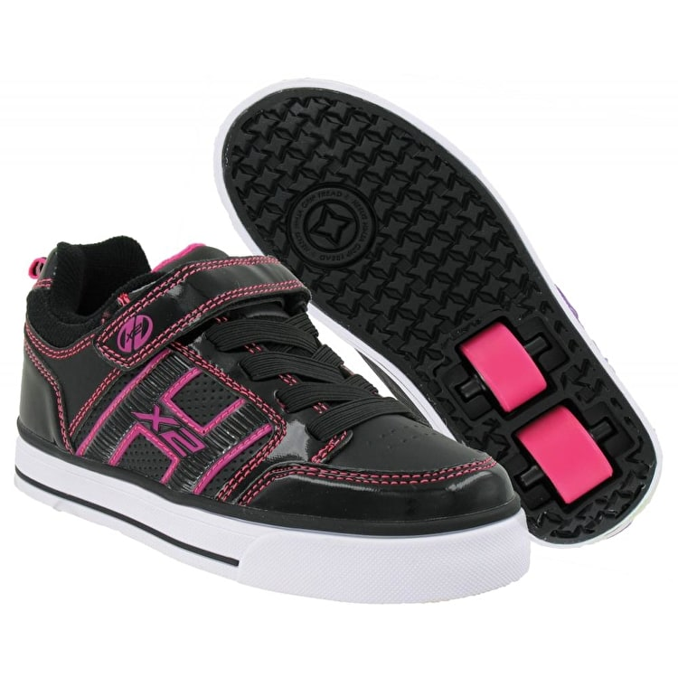 Heelys HX2 Bolt Plus - Black / Hot Pink