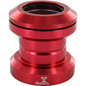 District Pro Anodized Headset - Red