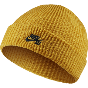 Nike SB Fisherman Beanie - Mineral Gold/Black