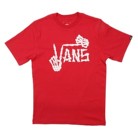 Vans Twist Up Kids T-Shirt - Cardinal
