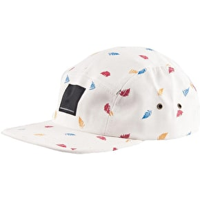 WeSC Bracken 5 Panel Cap - Winter White