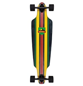 D Street Longboard - Stinger Drop Through Rasta 38