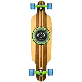 Kryptonic Drop Through Complete Longboard - Cast-Off 38