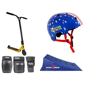 Nitro Circus R Willy Signature Stunt Scooter Deluxe Bundle