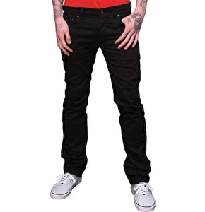 Urban Kreation Slim Fit Kevlar lined Jeans - Black