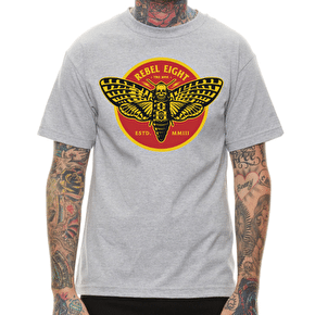 Rebel8 Silence Soft T-Shirt - Heather Grey