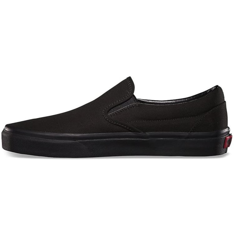 Vans Classic Slip-On Skate Shoes - Black/Black