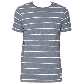 Globe Moonshine Kids T-Shirt - Navy Stripe