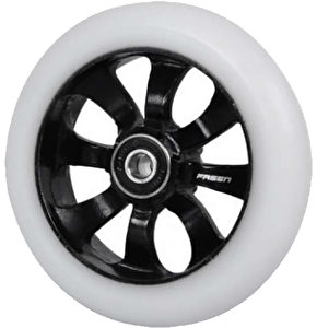 Fasen 8 Spokes Wheel 110mm Black White