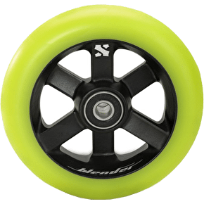 Sacrifice Blender 110mm Wheel - Titanium/Lime