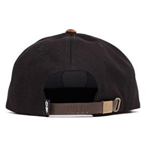 Rebel8 Circle 8 Snapback Cap - Black