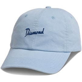 Diamond Supply Co Gulf Script Sports Cap - Powder Blue