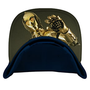 Dedicated C-3PO Snapback Cap