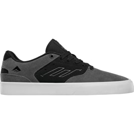 Emerica The Reynolds Low Vulc Skate Shoes - Grey/Black/White