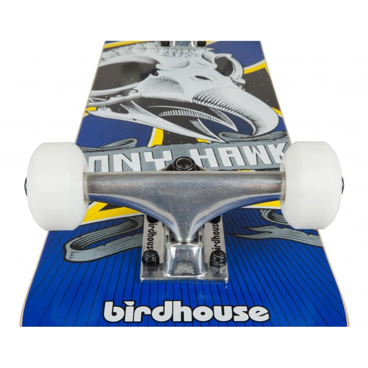 Birdhouse Stage 1 Oversized Skull Mini Complete Skateboard - 7.38""