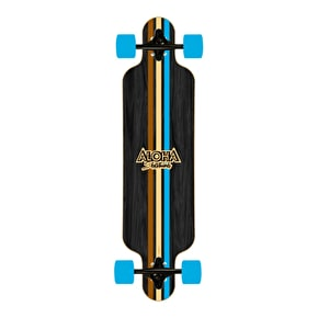 Aloha Stripes Drop-Through Complete Longboard 19.13