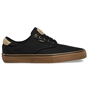 Vans Chima Ferguson Pro Skate Shoes - (Native) Black/Gum