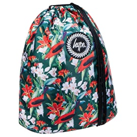 Hype Crest Gym Bag - Red Blossom