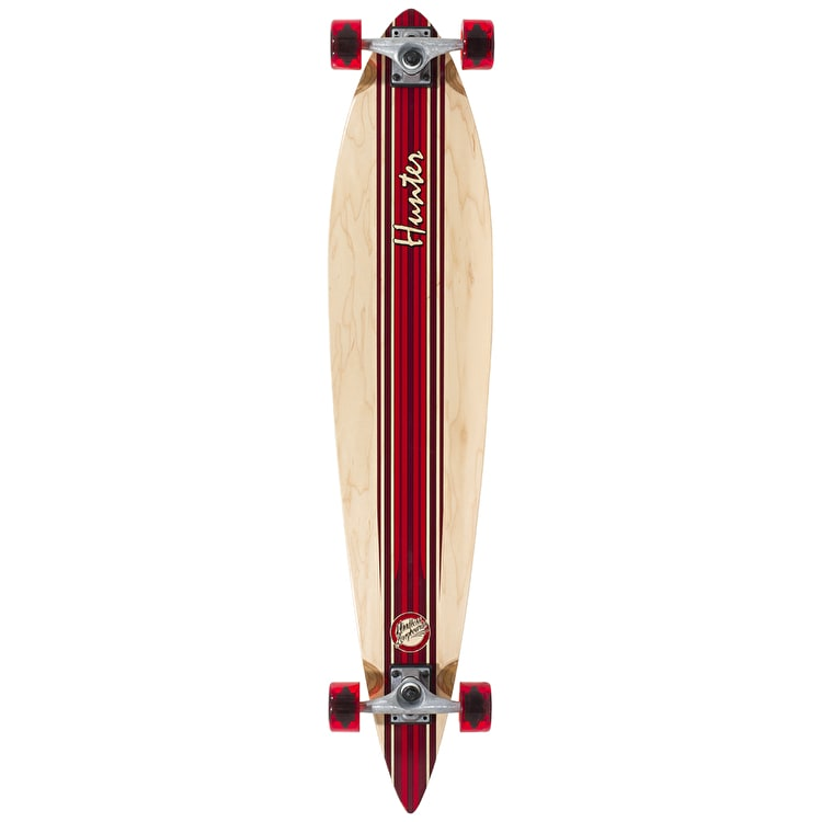 Mindless Hunter III Complete Longboard - Red 44""
