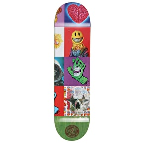 Santa Cruz Ron English POPaganda III Skateboard Deck - Multi 8.375