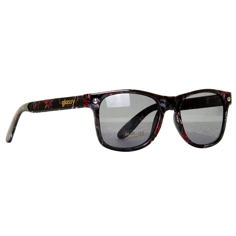 Glassy Sunhaters Leonard Sunglasses - Palm Tree