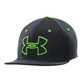 Under Armour Front Centre Cap - Black/Green