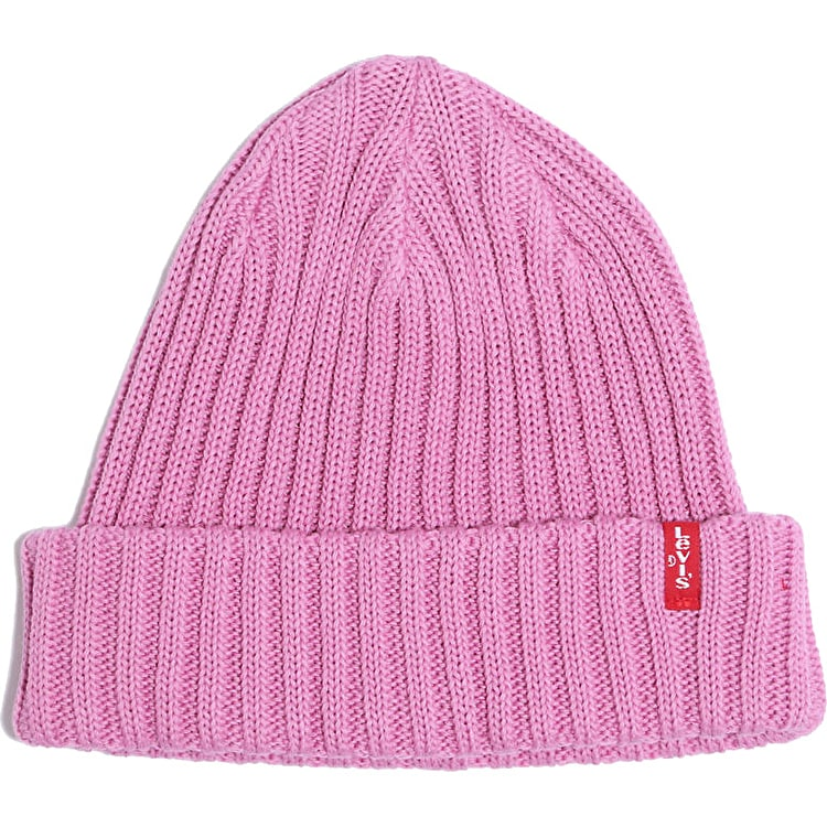 Levi's Ribbed Beanie - Pink