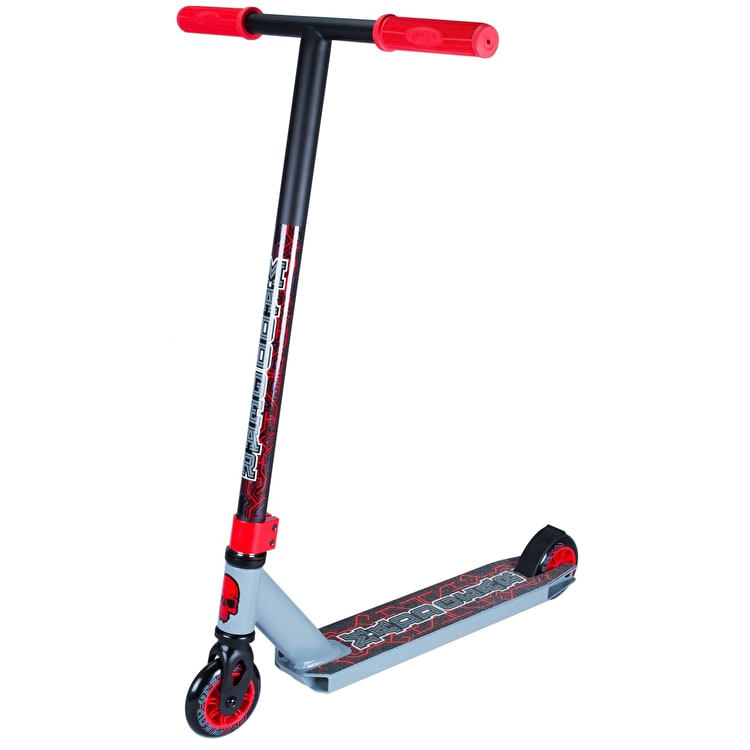 Madd Kick Pro X Complete Scooter - Grey/Red
