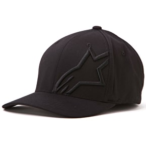 Alpinestars Corp Shift 2 Flexfit Cap - Black/Black