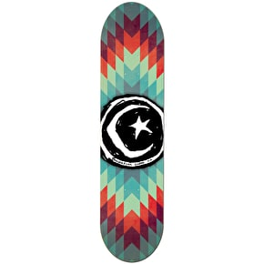 Foundation Star & Moon Skateboard Deck - Navajo 8.0