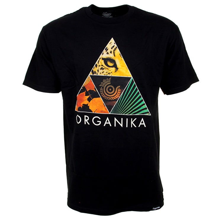Organika Forms T-Shirt - Black