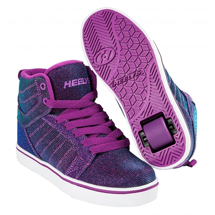 Heelys Uptown - Berry/Aqua Colourshift
