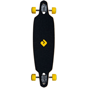 Atom Rasta Lion Drop-Through Complete Longboard - 36