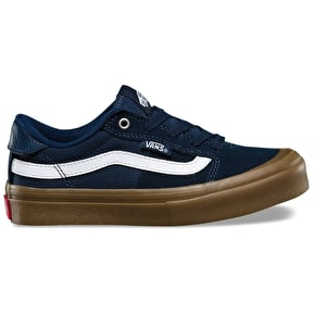 Vans Style 112 Pro Kids Skate Shoes - Navy/Gum/White