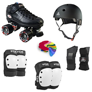 Roller Derby Starter Package- Riedell R3 TSG Advanced