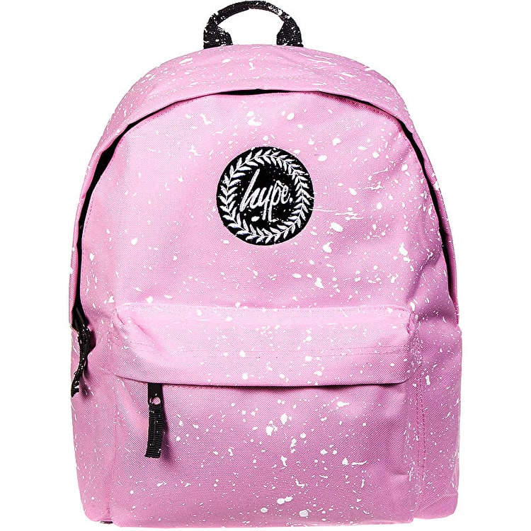 Hype Splat Backpack - Baby Pink/White
