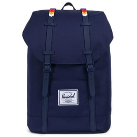 Herschel Retreat Backpack - Peacoat/Rainbow Chevron Rubber