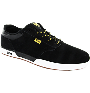 DVS Vapor Shoes - Black/Gold Suede