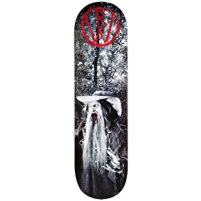 Blood Wizard Conjuring Skateboard Deck - 8.5''