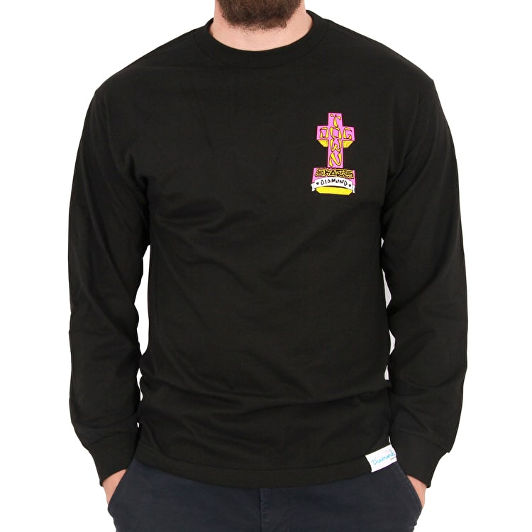Diamond x Dogtown A. Murry Longsleeve T-Shirt - Black