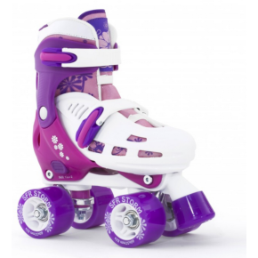 SFR Storm II Adjustable Quad Skates - Pink